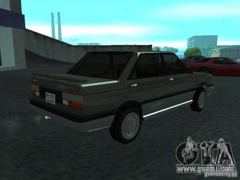 Nissan Sanny 1500 (B12) for GTA San Andreas back left view