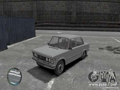 Fiat 125P FSO 1983 for GTA 4
