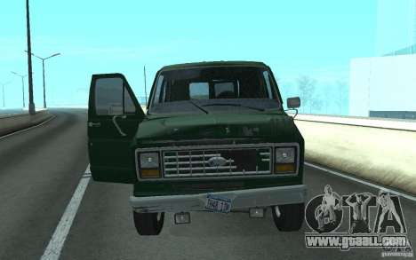 Ford E-150 Short Version v3 for GTA San Andreas
