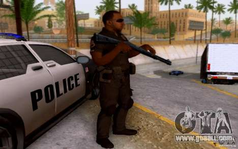 A police officer from CoD: BO2 for GTA San Andreas second screenshot