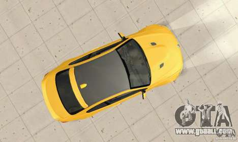 BMW M3 2008 Hamann v1.2 for GTA San Andreas inner view