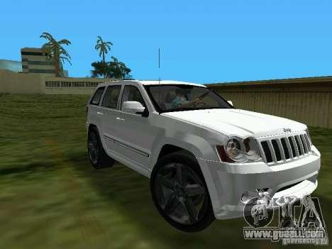 Jeep Grand Cherokee SRT8 TT Black Revel for GTA Vice City