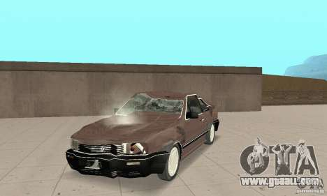 Volkswagen Santana GLS 1989 for GTA San Andreas left view