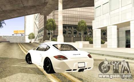 Porsche Cayman R for GTA San Andreas right view