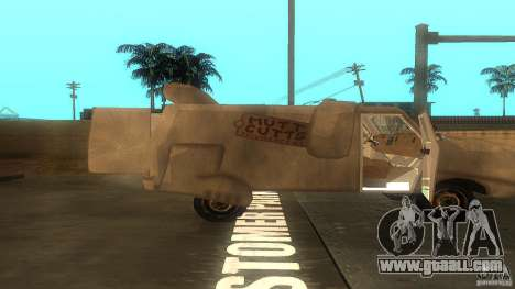 Dumb and Dumber Van for GTA San Andreas right view