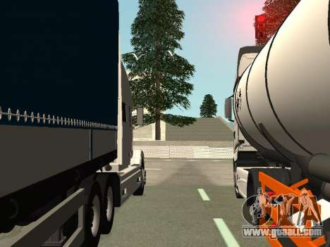 Volvo VNL for GTA San Andreas upper view