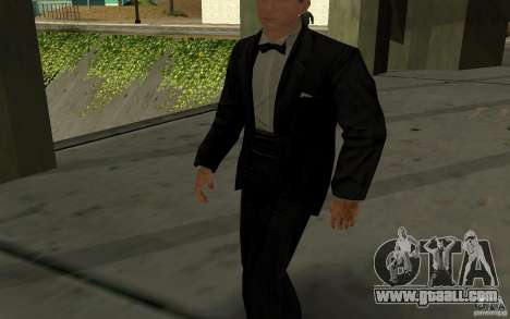 Agent 007 for GTA San Andreas second screenshot