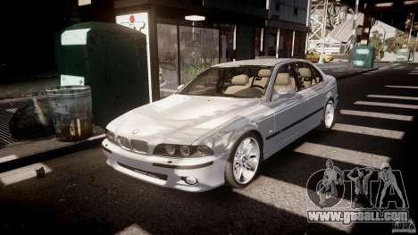 BMW M5 E39 Stock 2003 v3.0 for GTA 4