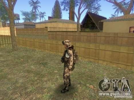 Blackburn of BF3 for GTA San Andreas third screenshot