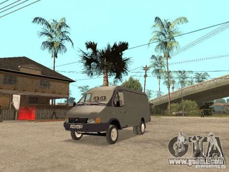 Gazelle 2705 in 1994. for GTA San Andreas left view