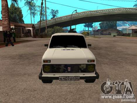 VAZ 2131 for GTA San Andreas left view
