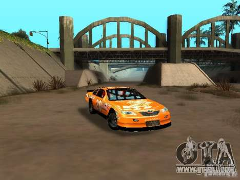 Toyota Camry Nascar Edition for GTA San Andreas inner view