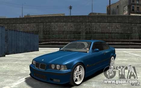 BMW M3 E36 v1.0 for GTA 4 left view