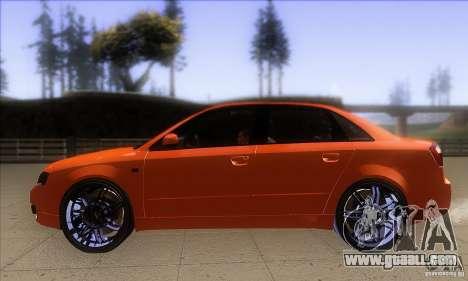 Audi S4 DIM for GTA San Andreas left view