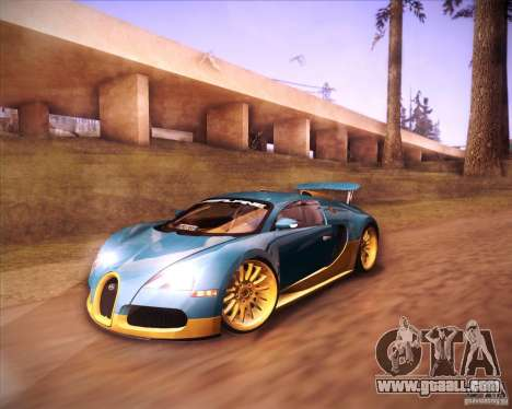 Bugatti Veyron Super Sport for GTA San Andreas