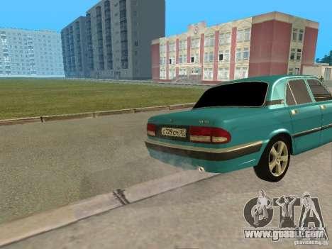 Volga GAZ 3110 for GTA San Andreas right view