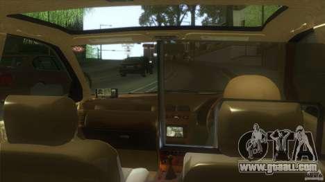 Nissan Cefiro A32 Kouki Japanese PoliceCar for GTA San Andreas back left view