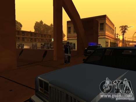 Pack Ballas Soldiaz Families V.2 for GTA San Andreas fifth screenshot