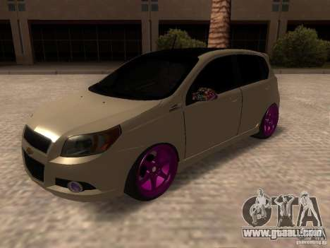 Chevrolet Aveo Tuning for GTA San Andreas