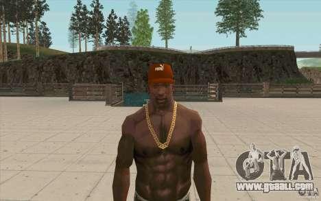 Puma Cap for GTA San Andreas third screenshot