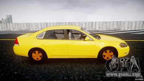 Chevrolet Impala 9C1 2012 for GTA 4 inner view