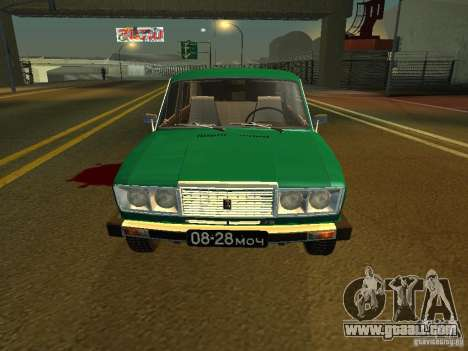 VAZ 2106-seventh Floor for GTA San Andreas left view