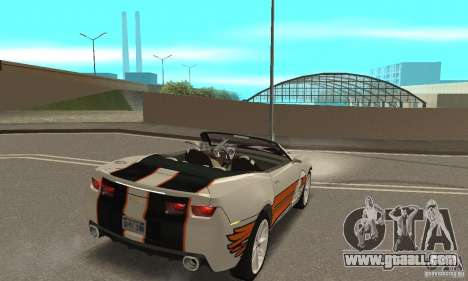Chevrolet Camaro Concept 2007 for GTA San Andreas interior
