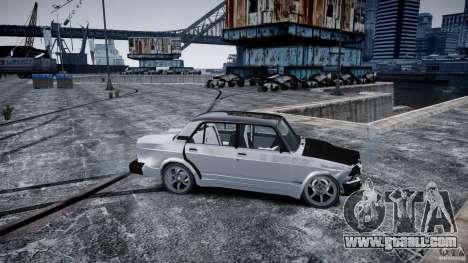 ВАЗ 2107 Drift for GTA 4 back view