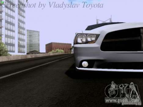 Dodge Charger 2013 for GTA San Andreas side view