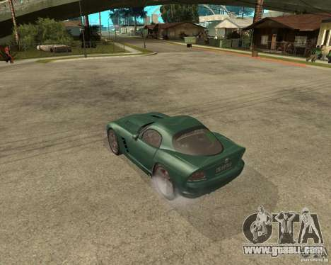 Dodge Viper Srt 10 for GTA San Andreas left view
