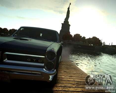 Pontiac GTO DF for GTA 4 back view