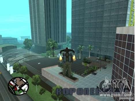 Doherty Plaza-new Dorothy for GTA San Andreas forth screenshot