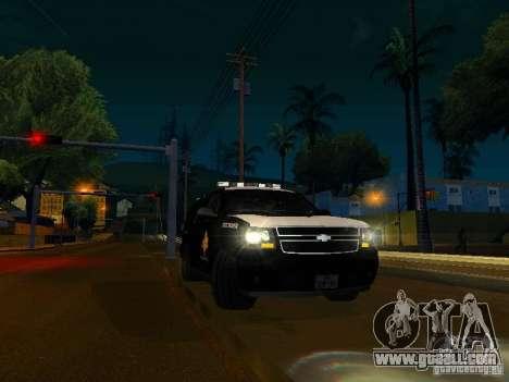 Chevrolet Tahoe Texas Highway Patrol for GTA San Andreas