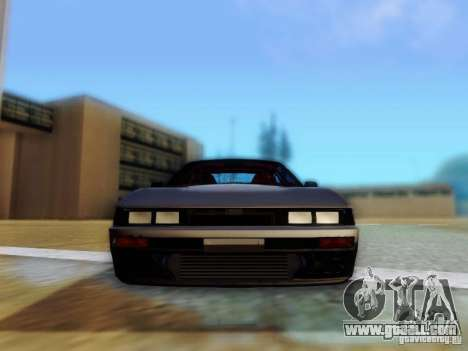 Nissan S13 - Touge for GTA San Andreas back view