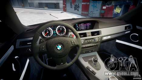 BMW M3 Hamann E92 for GTA 4 back view