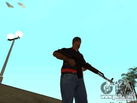 Real death for GTA San Andreas third screenshot