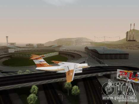 Ilyushin Il-76td for GTA San Andreas left view