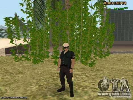 SAPD skins for GTA San Andreas fifth screenshot