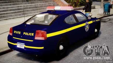 Dodge Charger New York State Trooper CHGR-V2.1M for GTA 4 upper view