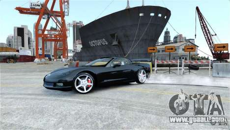 Chevrolet Corvette C6 Convertible v1.0 for GTA 4 engine