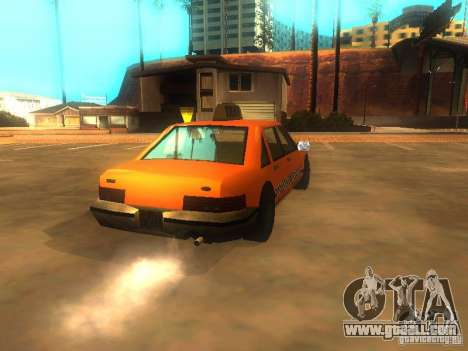 Crazy Taxi for GTA San Andreas back left view