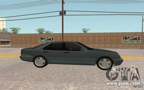 Mercedes Benz E420 W210 for GTA San Andreas back left view