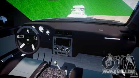 Dodge Ram 3500 2010 Monster Bigfut for GTA 4 upper view