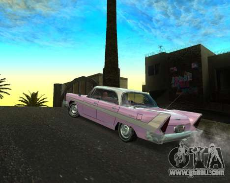 Plymouth Belvedere for GTA San Andreas left view