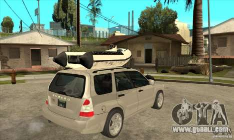 Subaru Forester for GTA San Andreas right view