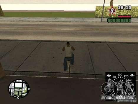New speedometer for GTA San Andreas sixth screenshot