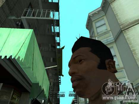 THE NEW FACE OF CJ for GTA San Andreas forth screenshot