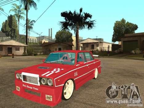 VAZ 2107 Sparky for GTA San Andreas