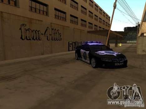 Pontiac GTO Police for GTA San Andreas left view