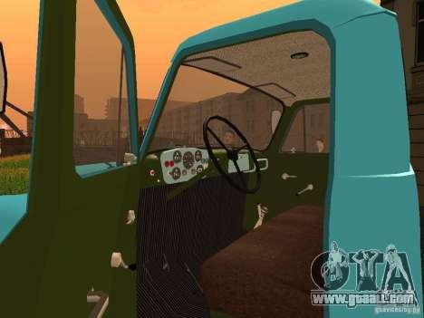 GAZ 53 milk tanker for GTA San Andreas back view